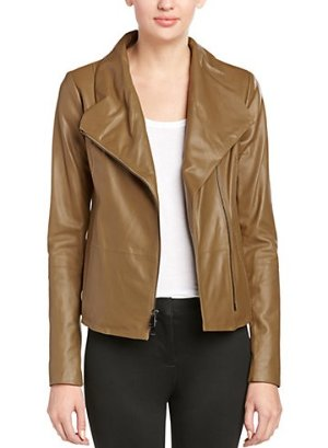 Vince Scuba Leather Jacket @ Rue La La