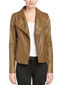 Vince Scuba Leather Jacket @ Rue La La