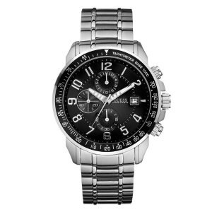 Silver-Tone Oversized Watch | GuessFactory.com