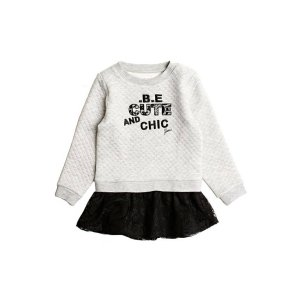 Two-Fer Sweatshirt Dress (2-5xy) | GUESS.com