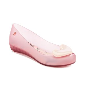 Melissa Women's Alice Ultragirl Ballet Flats - Blush Heart - Free UK Delivery over £50
