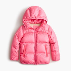 Girls' Marshmallow Puffer Jacket : Girls' Jackets & Coats   J.Crew