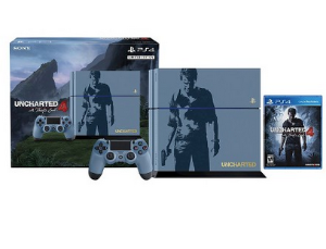 PlayStation 4 500GB Console Uncharted 4 Limited Edition Bundle