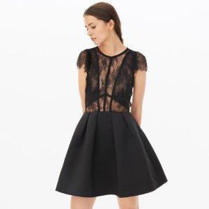 Davina Dress - Little Black Dress - Sandro-paris.com
