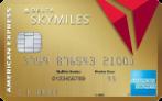 满足消费获30,000达美里程奖励+$50 第一件托运行李免费 优先登机 Gold Delta SkyMiles® Credit Card from American Express