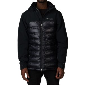 COLUMBIA HEATZONE 1000 TURBODOWN HOODED JACKET - Black | Jimmy Jazz - 1619811-010