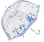 直邮中美!$10.67/RMB70 日系 童话故事 超梦幻 透明雨伞 多花柄 热卖
