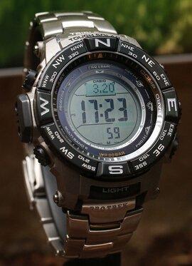 $264.71 Casio Men's PRW-3500T-7CR Pro Trek Tough Solar Digital Sport Watch