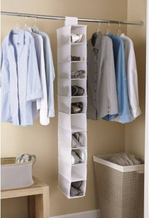Mainstays 10-Shelf Organizer, 2-Pack