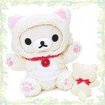 可直郵!$25.28/RMB170 日本SanX 牛奶熊猫咪玩偶