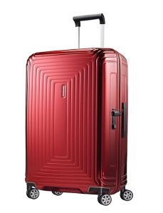$157.48 Samsonite Neopulse Hardside with Spinner Wheels 75/28 Red