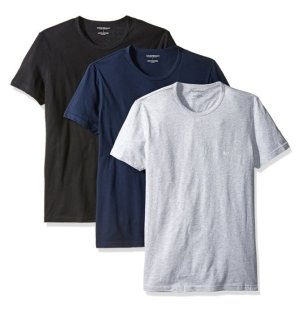 From $14.21 Emporio Armani Men's 3-Pack Crew-Neck Lift T-Shirt