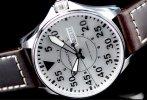 $399 Hamilton Men's Khaki Aviation Pilot Auto Watch