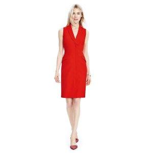 Sleeveless Tux Dress