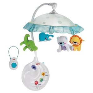 Fisher-Price Precious Planet 2-in-1 Projection Mobile - Free Shipping