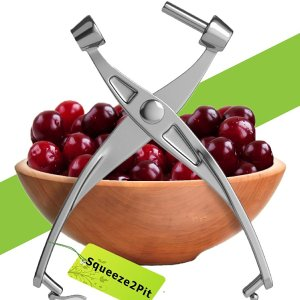 Cherry Pitter Heavy Duty Squeeze2Pit Kitchen Pitter Tool