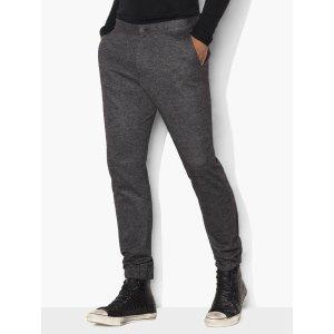 Birdseye Jacquard Knit Pants - John Varvatos
