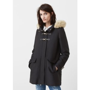 Quilted hooded parka - Woman | MANGO USA
