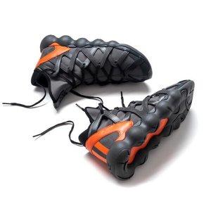 adidas Y-3 by Yohji Yamamoto Kyujo High Charcoal/Core Black/Orange - 6pm.com