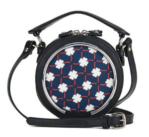 £198 + Free Shipping Carven Women's Round Printed Cross Body Bag