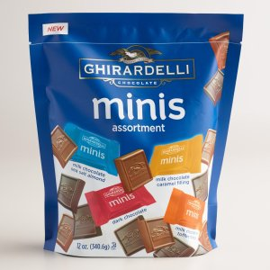 Extra Large Ghirardelli Assorted Chocolate Minis Bag | World Market