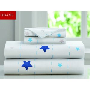 Sleep Number Kids™ Blue Stars Sheet Set | Sleep Number Site