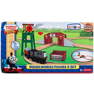 Thomas & Friends Wooden Railway Figure 8 Dieselworks Playset - Fisher-Price - Toys