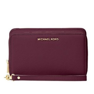 MICHAEL Michael Kors Adele Leather Phone Case @ Lord & Taylor