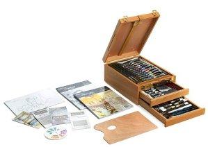 Art 101 97-Piece Sketch Box Easel