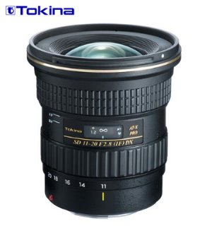 Tokina ATX 11-20mm F/2.8 Pro DX Ultrawide Zoom Lens for Digital Canon EF Mount Cameras