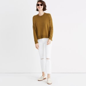 Brownstone Side-Button Sweater : AllProducts | Madewell