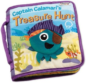 $2.28 Prime Member Only! Lamaze Captain Calamari's Treasure Hunt Soft Book