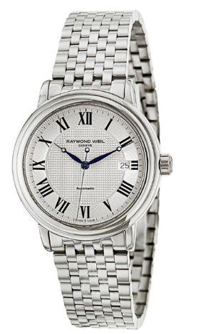 $469(reg. $1450) Raymond Weil Men's Maestro Automatic Date Watch 2837-ST-00659