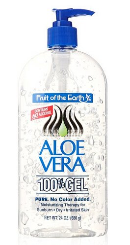 $5.99(reg.$12.99) Fruit of the Earth Aloe Vera 100% Gel,24oz