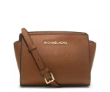 MICHAEL Michael Kors Selma Mini Messenger Bag, Luggage