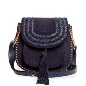 Chloe Small Hudson Bag Navy