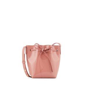 Mansur Gavriel Mini Mini Patent Leather Bucket Bag