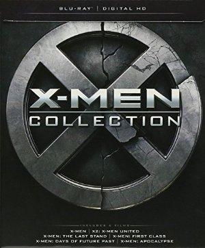 六部影片$26.75纪念狼叔退休《X战警X-men》合集 蓝光+DVD套装