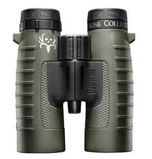 $78.99 Bushnell Binocular Bundle: Trophy XLT Roof Prism Binoculars, 10x42mm (Bone Collector Edition) + Deluxe Binocular Harness: Sports & Outdoors