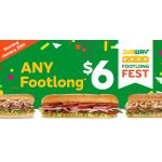 All of flavor-packed footlnog subs