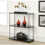 Convenience Concepts Designs2Go 3-Tier Bookshelf, Black