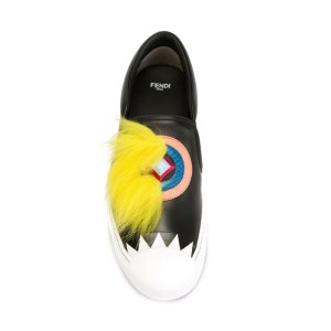 Fendi Sneaker With Fur | Tessabit shop online