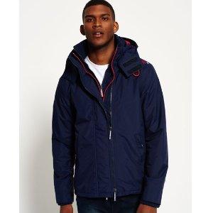 Pop Zip Hooded Arctic Windcheater Jacket