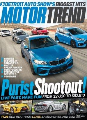 4 Yr Motor Trend Magazine Subscriptions