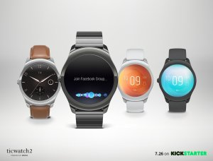 As Low as $199 Preorder ticwatch 2 is Available on Kickstarter!