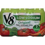 V8 100% Vegetable Juice, Original Low Sodium, 11.5 Ounce (Pack of 24)