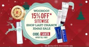 满额享85折香港莎莎官网sasa.com 化妆品、护肤品圣诞特卖