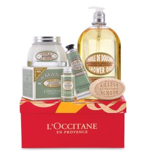 Almond Holiday Gift Set   Almond Body Care Products   L'Occitane