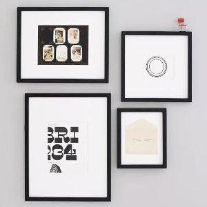 Gallery Frames - Black | west elm