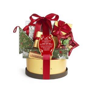 Home For The Holidays Gift Basket   GODIVA